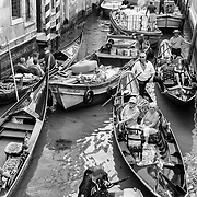 Traffic in Venice<br /> <br /> HOW TO LICENCE THIS PICTURE: please contact us via e-mail at sales@xianpix.com or call our offices in Venice at (+39) 41963 7374 or London +44 (0)207 1939846 for prices and terms of copyright. First Use Only ,Editorial Use Only, All repros payable, No Archiving.© MARCO SECCHI
