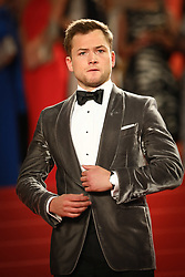 Taron Egerton departs from the screening of Rocket Man during the 72nd annual Cannes Film Festival on May 16, 2019 in Cannes, France. Photo by Shootpix/ABACAPRESS.COM