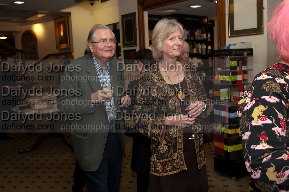 GRAHAM GREENE, Relish: My Life on a Plate by Prue Leith. Hatchards. Piccadilly, London. 14 March 2012.