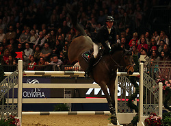 Britain's Ben Maher riding Winning Good competes in the Christmas Masters during day five of the London International Horse Show at London Olympia. PRESS ASSOCIATION Photo. Picture date: Saturday December 16, 2017. See PA story EQUESTRIAN Olympia. Photo credit should read: Steve Parsons/PA Wire
