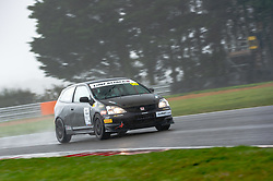 Matt Rowling pictured while competing in the 750 Motor Club's Hot Hatch Championship. Picture taken at Snetterton on October 17, 2020 by 750 Motor Club photographer Jonathan Elsey