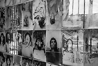 Images of torture victims at Tuol Sleng Genocide Museum, Phnom Penh, Cambodia