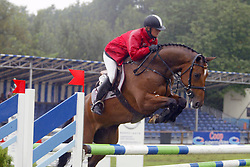 Kayser Julia-Hbc Special 5jr<br /> KWPN Paardendagen Ermelo 2004<br /> Photo © Hippo Foto