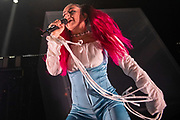 WASHINGTON, DC - October 18th, 2019 - Charli XCX performs at the 9:30 Club in Washington, D.C. She released her third album, Charli, in September.  (Photo by Kyle Gustafson / For The Washington Post)