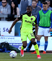 Joel Grant of Exeter City - Mandatory by-line: Robbie Stephenson/JMP - 14/05/2017 - FOOTBALL - Brunton Park - Carlisle, England - Carlisle United v Exeter City - Sky Bet League Two Play-off Semi-Final 1st Leg