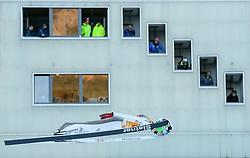 31.12.2016, Olympiaschanze, Garmisch Partenkirchen, GER, FIS Weltcup Ski Sprung, Vierschanzentournee, Garmisch Partenkirchen, Qualifikation, im Bild Domen Prevc (SLO) // Domen Prevc of Slovenia during his Qualification Jump for the Four Hills Tournament of FIS Ski Jumping World Cup at the Olympiaschanze in Garmisch Partenkirchen, Germany on 2016/12/31. EXPA Pictures © 2016, PhotoCredit: EXPA/ Jakob Gruber