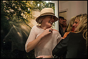 HANNAH CLARKE; CAMILLA ALEXANDRA;  Mim Scala, In Motion, private view. Eleven. Eccleston st. London. 9 October 2014.