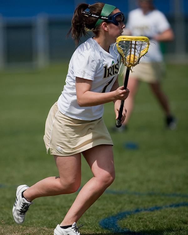 Notre Dame Lacrosse 2009.University of Notre Dame vs. University of Connecticut