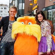 NLD/Amsterdam/20120401 - Premiere de Lorax, Ferry Doedens en Marly van der Velden