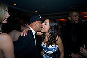 RUSSELL SIMMONS; ROSARIO DAWSON, Vanity Fair Oscar night party hosted by Graydon Carter.  Sunset  Tower Hotel, West Hollywood. 22 February 2009.