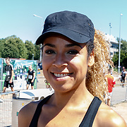 NLD/Amsterdam/20180701 - Evers staat op Run 2018, Amara Onwuka