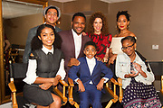 L-R front row: Yara Shahidi, Miles Brown, Marsai Martin, back row: Marcus Scribner, Anthony Anderson, Jenni Luke, CEO, Step Up Women's Network and Tracee Ellis Ross