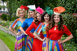 The Tootsie Rollers during day one of Royal Ascot at Ascot Racecourse