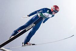 February 8, 2019 - Lahti, Finland - Constantin Schmid competes during FIS Ski Jumping World Cup Large Hill Individual Qualification at Lahti Ski Games in Lahti, Finland on 8 February 2019. (Credit Image: © Antti Yrjonen/NurPhoto via ZUMA Press)