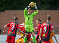 Annan Athletic's Alex Mitchell. Livingston 1 v 0 Annan Athletic, Scottish League Cup Group F, played 21/7/2018 at Prestonfield, Linlithgow.