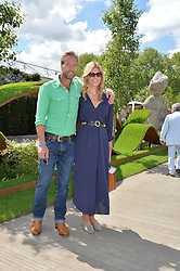 BEN & MARINA FOGLE at the 2016 RHS Chelsea Flower Show, Royal Hospital Chelsea, London on 23rd May 2016