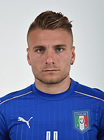 FLORENCE, ITALY - JUNE 01:  Ciro Immobile of Italy poses for a photo ahead of the UEFA Euro 2016 at Coverciano on June 1, 2016 in Florence, Italy.  Foto Claudio Villa/FIGC Press Office/Insidefoto