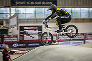 #494 (BRUNNER Gil) SUI during practice at the 2019 UCI BMX Supercross World Cup in Manchester, Great Britain