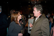 KAY BURLEY, SKY NEWSREADER. Book launch for Citizen by Charlie Brooks. Tramp. London. 1 April  2009