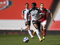 Football - 2020 /2021 Premier League - Arsenal v Fulham - Emirate Stadium<br /> <br /> Fulham's Ivan Cavaleiro in action during this afternoon's game.<br /> <br /> COLORSPORT