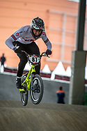 #87 (WHYTE Kye) GBR at Round 5 of the 2019 UCI BMX Supercross World Cup in Saint-Quentin-En-Yvelines, France