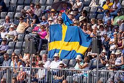 Swedish supporters<br /> European Championship Riesenbeck 2021<br /> © Hippo Foto - Dirk Caremans<br />  03/09/2021