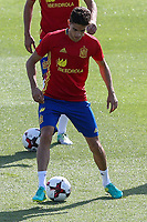 Spanish Marc Bartra during the second training of the concentration of Spanish football team at Ciudad del Futbol de Las Rozas before the qualifying for the Russia world cup in 2017 August 30, 2016. (ALTERPHOTOS/Rodrigo Jimenez)