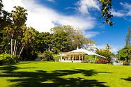 Maui, Hawaii.  The plantation house in Hana.