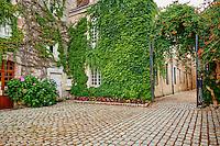 France, Indre (36), Argenton-sur-Creuse, hotel particulier, hotel de Scevole XVII-XVIII siècle // France, Indre (36), Argenton-sur-Creuse, Scevole mansion XVII - XVIII century