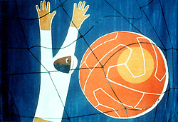 WORLD CUP OFFICIAL POSTER 1954