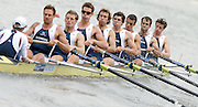Amsterdam, HOLLAND, GBR M8+, bow, Tom PARKER, Tom STALLARD, Tom LUCY, Hugo LEE, Josh WEST, Rick EGINGTON, Robin BOURNE-TAYLOR, Alistair HEATHCOTE and Acer NETHERCOTT, move away from the start of the heat of the men's eights, at the 2007 FISA World Cup Rd 2 at the Bosbaan Regatta Rowing Course. [Date] [Mandatory Credit: Peter Spurrier/Intersport-images]..... , Rowing Course: Bosbaan Rowing Course, Amsterdam, NETHERLANDS