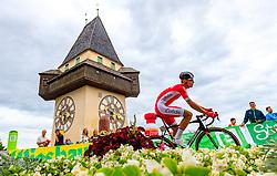 02.07.2017, Graz, AUT, Ö-Tour, Österreich Radrundfahrt 2017, 1. Etappe, Prolog, im Bild Anthony Perez (FRA, Cofidis, Solutions Credits) // during Stage 1, Prolog of 2017 Tour of Austria. Graz, Austria on 2017/07/02. EXPA Pictures © 2017, PhotoCredit: EXPA/ JFK
