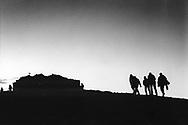 Pilgrimage to the chaple on the top of Ida mountain, Crete