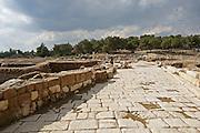 Israel, Galilee, Zippori National Park A mishnaic-period city with an abundance of mosaics