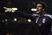 Photo: Paul Thomas.<br /> England v Spain. International Friendly. 07/02/2007.<br /> <br /> Ben Foster, New England keeper in action.