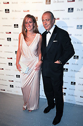 TANAZ DIZADJI and FAWAZ GRUOSI at The Love Ball hosted by Natalia Vodianova and Lucy Yeomans to raise funds for The Naked Heart Foundation held at The Round House, Chalk Farm, London on 23rd February 2010.