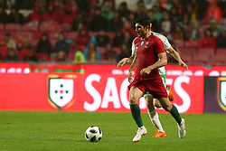 June 7, 2018 - Lisbon, Portugal - Portugal's forward Goncalo Guedes in action during the FIFA World Cup Russia 2018 preparation football match Portugal vs Algeria, at the Luz stadium in Lisbon, Portugal, on June 7, 2018. (Portugal won 3-0) (Credit Image: © Pedro Fiuza/NurPhoto via ZUMA Press)