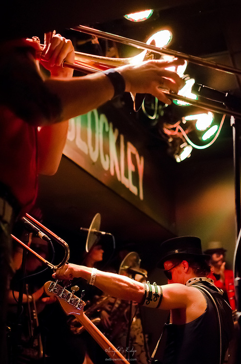A look into March Fourth as the band was performing at The Blockley in Philadelphia, PA.