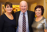 Kathleen Naughton Salthill, Ray Kelly Menlo,  Lisa Naughton, Salthill  at the Gorta Self Help Africa Annual Ball at the Galway Bay Hotel, Salthill Galway.<br /> Photo:Andrew Downes, xposure.
