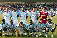 FOOTBALL - FRIENDLY GAMES 2007/2008 - <br /> lagbilde<br /> OLYMPIQUE MARSEILLE v TOULOUSE - 17/07/2007 - TEAM OM ( BACK ROW LEFT TO RIGHT : BENOIT CHEYROU / HABIB BEYE / DJIBRIL CISSE / JULIEN RODRIGUEZ / CEDRIC CARRASSO . FRONT ROW : ISMAILA TAIWO/ KARIM ZIANI / GAEL GIVET / MAMADOU NIANG / BOUDEWIJN ZENDEN / MODESTE MBAMI ) <br /> <br /> Norway only<br /> <br /> lagbilde