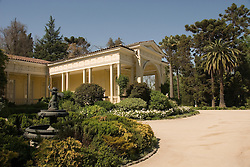 Chile Wine Country: Historic manor house at Concha y Toro Winery, Vina Concha y Toro, near Santiago..Photo #: ch456-32893..Photo copyright Lee Foster, 510-549-2202, www.fostertravel.com, lee@fostertravel.com.