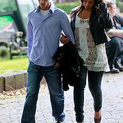 NLD/Hilversum/20110721 - Xavier Cabau, broer van Yolanthe Sneijder - Cabau van Kasbergen verlaat de rechtbank in Hilversum na zijn veroordeling wegens mishandeling
