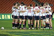Tasman just before kick off during their Round 5 ITM cup Rugby match, Waikato v Tasman, at Waikato Stadium, Hamilton, New Zealand, Friday 29 July 2011. Photo: Dion Mellow/photosport.co.nz