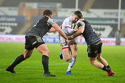 Adam McBurney of Ulster Rugby Guinness PRO14, Liberty Stadium, Swansea, UK 15/02/2020<br /> Ospreys vs Ulster Rugby<br /> <br /> Mandatory Credit ©INPHO/Alex James