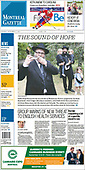 September 07, 2021 - CANADA: Front-page: Today's Newspapers In Canada
