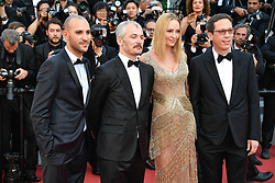 Reda Kateb, Uma Thurman, Karel Och and Mohamed Diab arriving for the 70th Cannes Film Festival closing ceremony on May 28, 2017 in Cannes, France. Photo by Julien Zannoni/APS-Medias/ABACAPRESS.COM