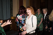 SYBIL ROBSON ORR; JANE ASHER, TenTen. The Government Art Collection/Outset Annual Award. Champagne reception to announce the inaugural artist Hurvin Anderson and unveil his 2018 print. Locarno Suite, Foreign and Commonwealth Office. SW1. 2 October 2018