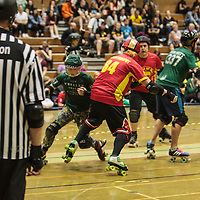 New Wheeled Order v The Quads of War at the 2015 British Championships Tier 2 Finals, 2015-09-05