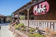 Mahe Sushi Bar Restaurant at the Dana Marina Plaza in Dana Point