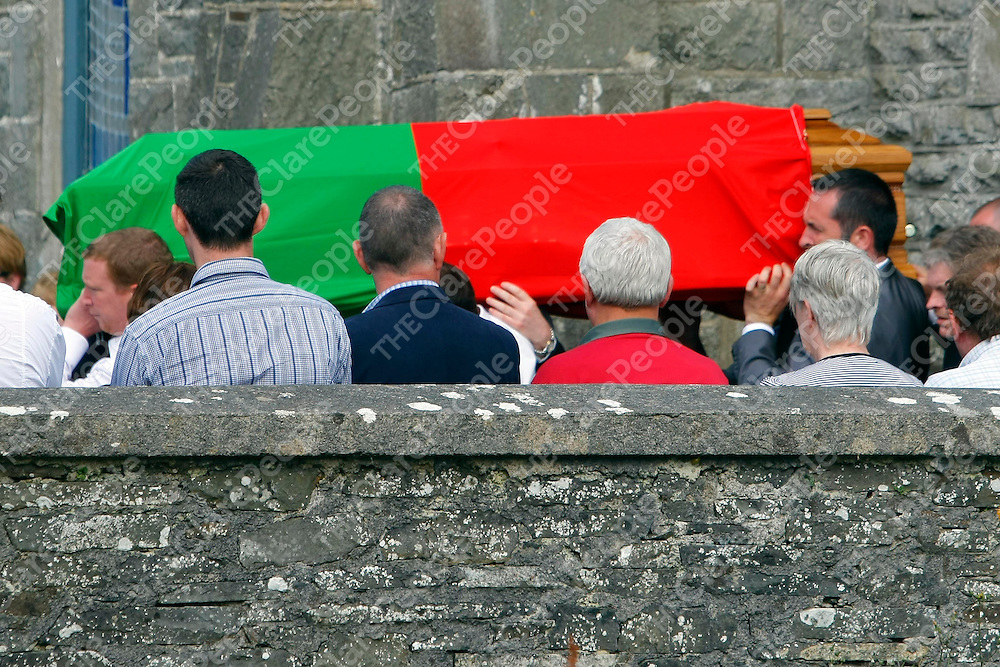 17/08/12Pictured at the funeral mass of Michael Galvin which took place at the Star of the Sea Church, Quilty, Co. Clare.<br /> Pic: Press 22